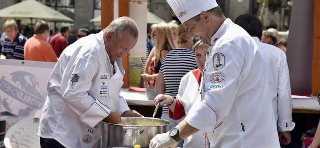 Už po ôsmy krát kuchári a cukrári oslávili sviatok svojho patróna