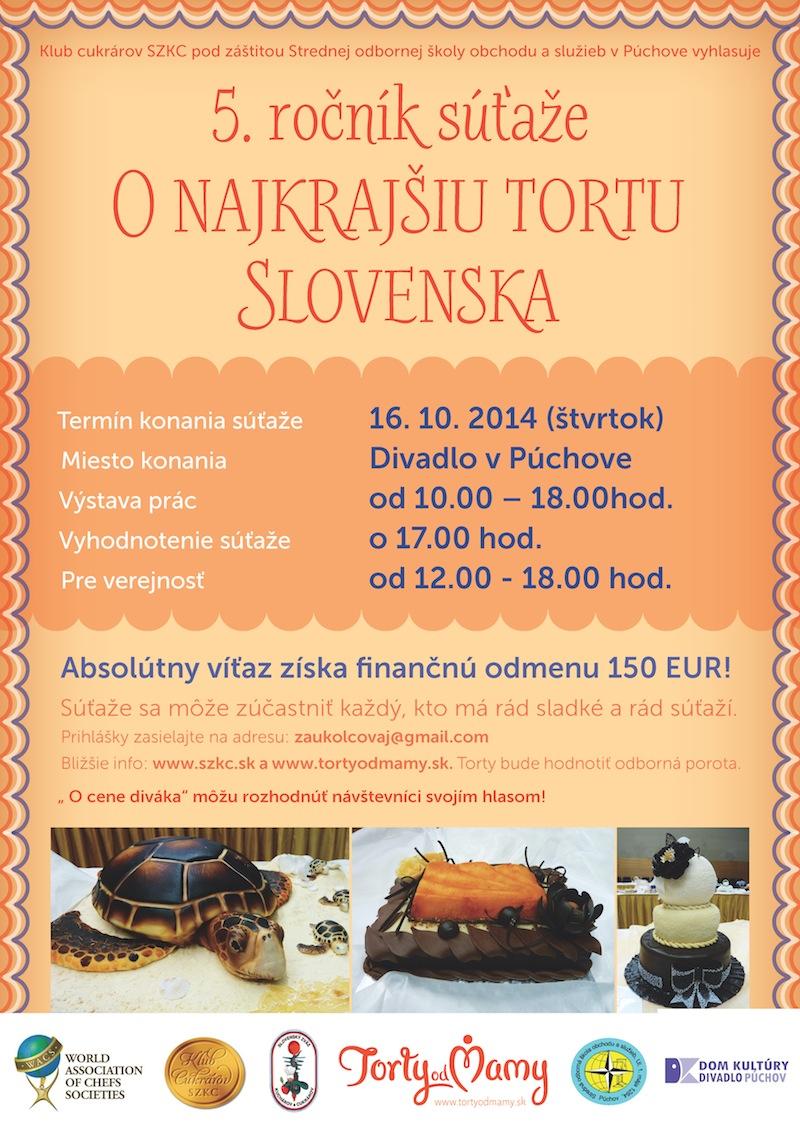 NAJKRAJSIA TORTA SLOVENSKA 2014