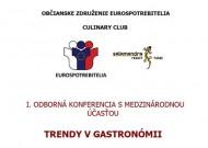 Odborná konferencia TRENDY V GASTRONÓMII