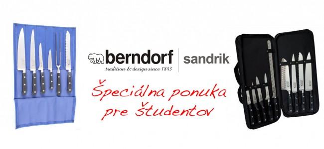 Špeciálna ponuka pre študentov od Berndorf Sandrik s.r.o