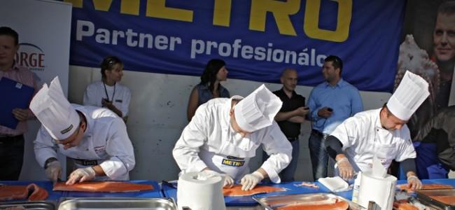 5. ročník Majstrovstiev republiky vo filetovaní lososa