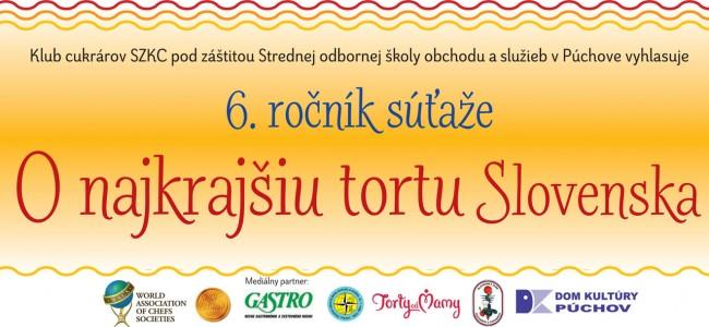 Súťaž o najkrajšiu tortu Slovenska 2015