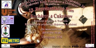 13. Rezprezentačný ples Kuchárov a Cukrárov Prešov