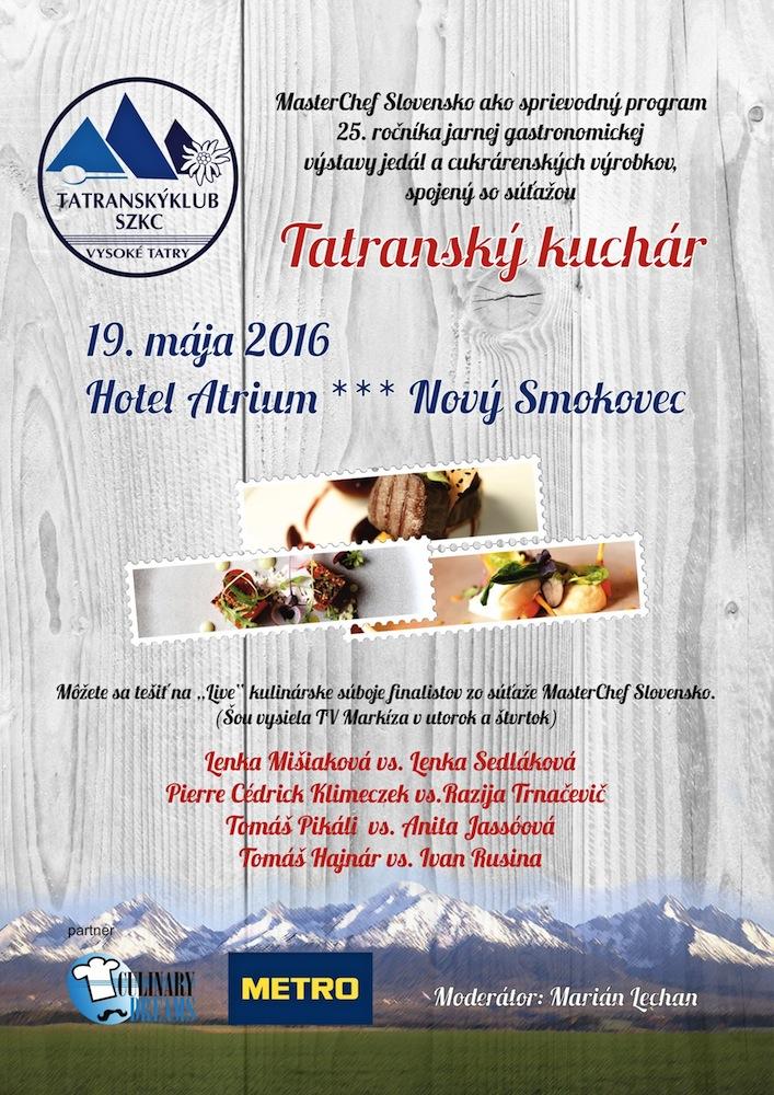 TatranskyKuchar 2016 masterchef final