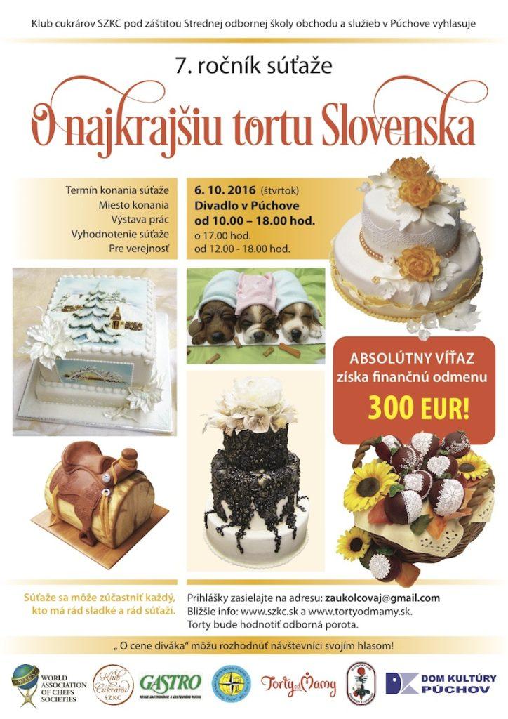 plagat najkrajšia torta Slovenska _2016_