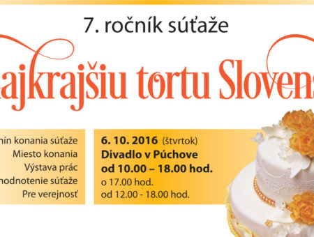 O najkrajšiu tortu Slovenska 2016