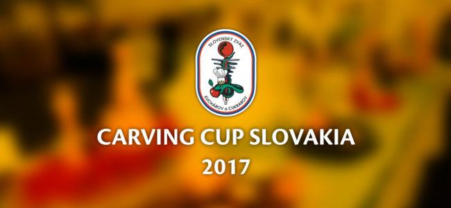 Vyhlasujeme súťaž CARVING CUP SLOVAKIA 2017