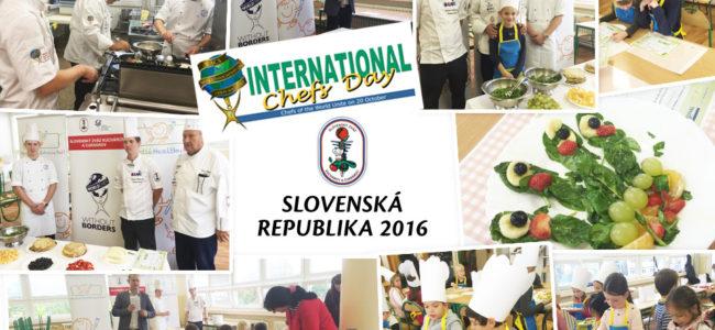 Oslávili sme Medzinárodný deň kuchárov 2016