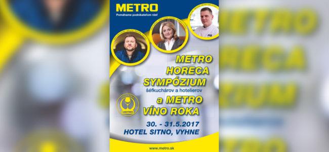 Pripomienka kongresu METRO HORECA SYMPÓZIUM 2017