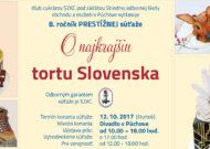 Najkrajšia torta Slovenska 2017