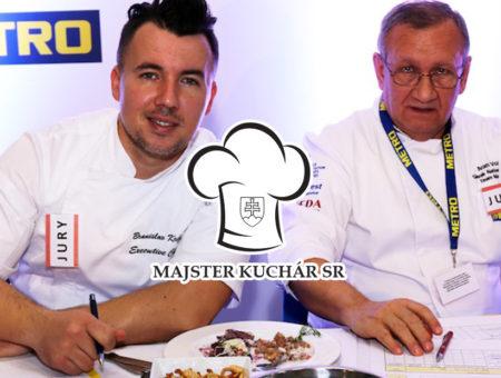 Vyhlásenie súťaže Majster kuchár SR 2017/2018