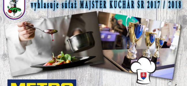 Majster kuchár SR 2017/2018