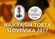 Najkrajšia torta Slovenska 2017 – Výsledky