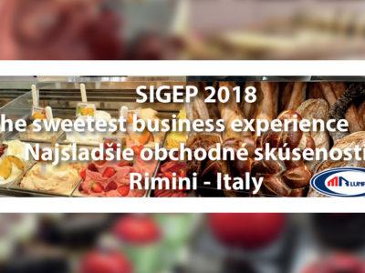 Svetová výstava SIGEP 2018 Taliansko Rimini