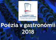 Ukončenie prijímania prihlášok – Carving CUP Slovakia 2018 a Poézia v Gastronómii 2018