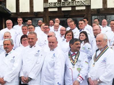Prezidenti európskych kuchárskych zväzov rokovali vbritskom Stafforde