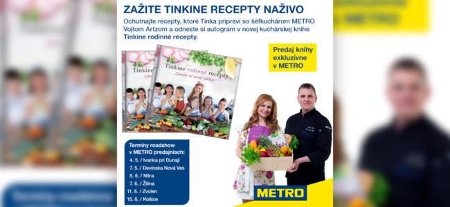 Foodblogerka Tinka bude variť priamo v obchodoch METRO