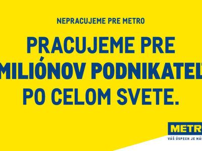 METRO štartuje novú globálnu brandovú kampaň