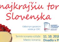Najkrajšia torta Slovenska 2018