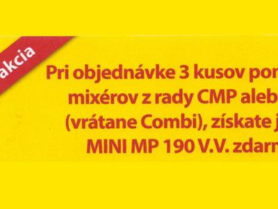 Špeciálna akcia Robot-Coupe: mixér Mini MP 190 zdarma