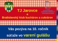 10. ročník Memoriál Róberta Kmeťa –  súťaž o varení guľášu