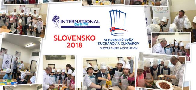 Oslávili sme Medzinárodný deň kuchárov 2018