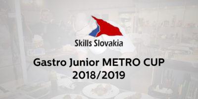 Vyhlásenie súťaže GASTRO JUNIOR METRO CUP