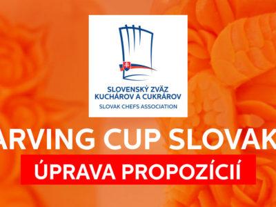 CARVING CUP SLOVAKIA 2019 – ÚPRAVA PROPOZÍCIÍ