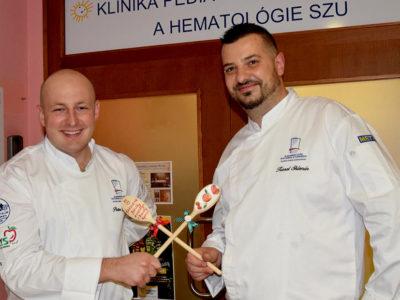 Členovia Tatranského klubu a ich partneri rozjasnili deň chorým detičkám