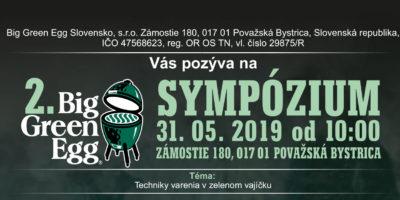 BIG GREEN EGG Sympózium 2019