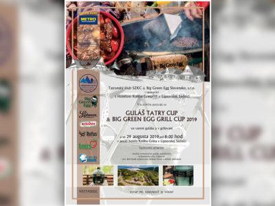 ZMENA TERMÍNU – Guláš Tatry Cup &Big Green Egg Grill Cup 2019