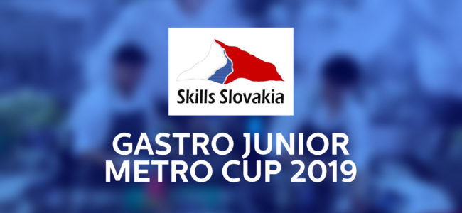 Vyhlásenie súťaže Skills Slovakia Gastro Junior METRO CUP 2019/2020