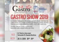 POZVÁNKA GASTRO SHOW 2019