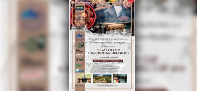 Guláš Tatry Cup a Big Green Egg Grill Cup 2019