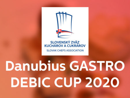 Vyhlásenie súťaže  Danubius GASTRO DEBIC CUP 2020