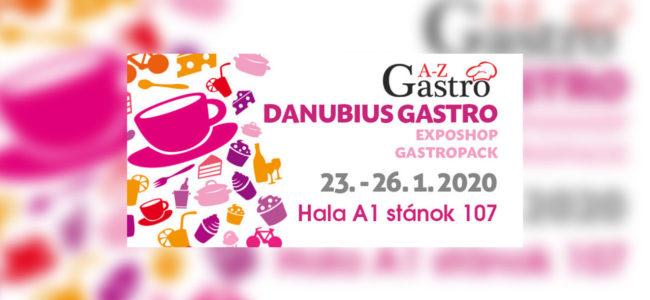 Pozvánka na Danubius Gastro 2020 od A-Z Gastro