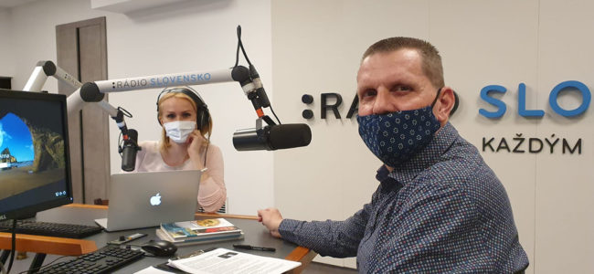 Vojto Artz hosťom Andrey Poláčkovej – Rádio Slovensko
