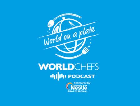 Zdieľajte s nami a prihláste sa na odber Worldchefs Podcast: World on a Plate.
