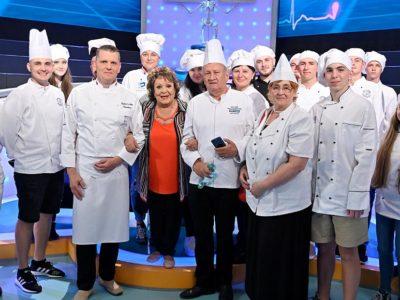 Kuchári a cukrári hosťami  televíznej relácie Záhady tela