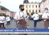 Protest kuchárov BB