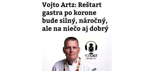 Podcast Chutný  – V. Artz ako hosť