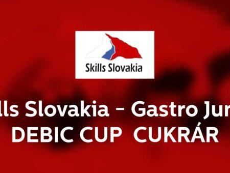 Vyhlásenie postupovej celoslovenskej súťaže Skills Slovakia – Gastro Junior DEBIC CUP 2021/2022 –  odbor cukrár junior